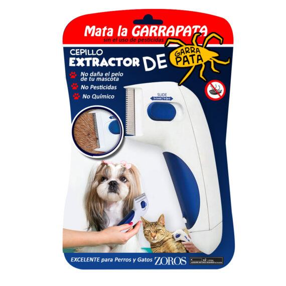 Peine extractor de pulgas y garrapatas 1