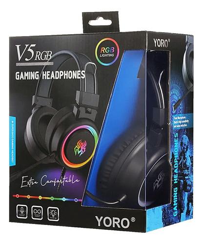 Audifonos Gamer V5 RGB 3