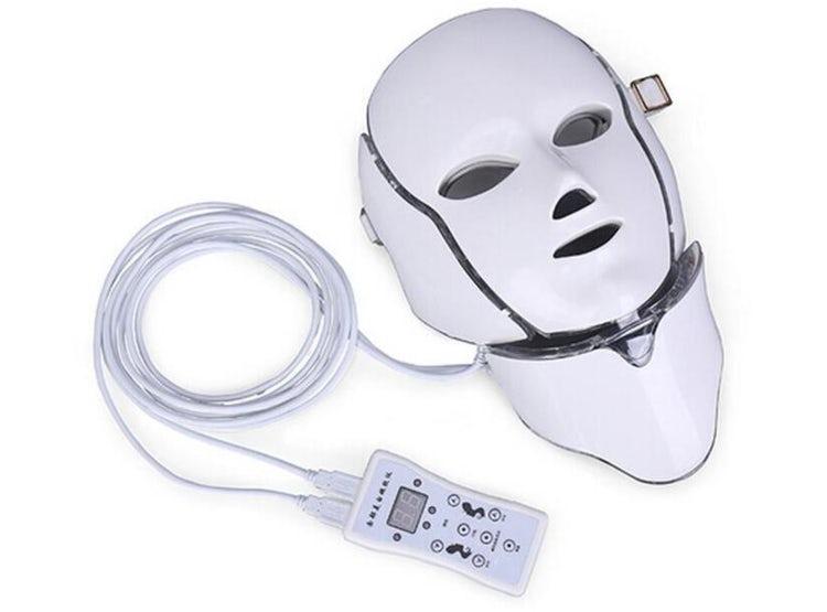 mascara facial led cuello 2