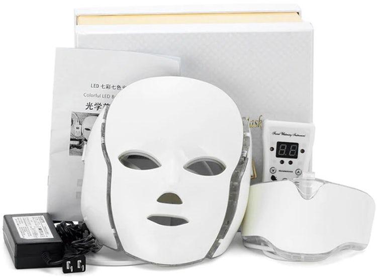 mascara facial led cuello 3